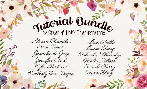 Tutorial Bundles available on my blog. Click the picture to visit