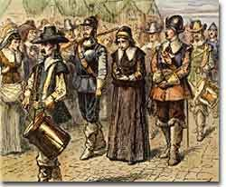 Mary Dyer was the first woman executed for her religious beliefs in Massachusetts Bay Colony.