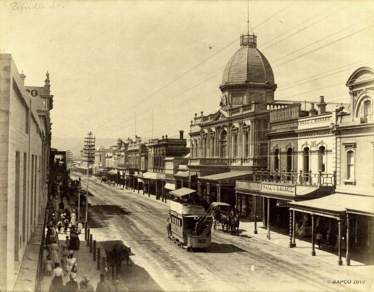 Rundle Street, Adelaide, South Australia, c1886.    Photographer: Unknown