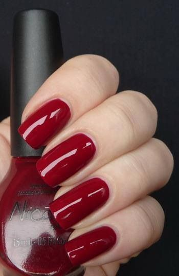Rote Nägel! Liebe