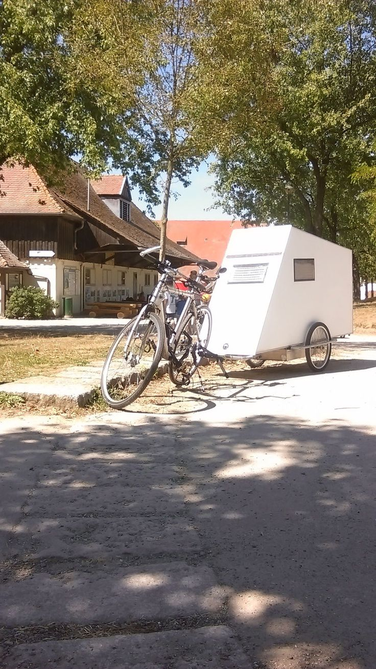 197 best bicycle campers images on pinterest bicycle. Black Bedroom Furniture Sets. Home Design Ideas