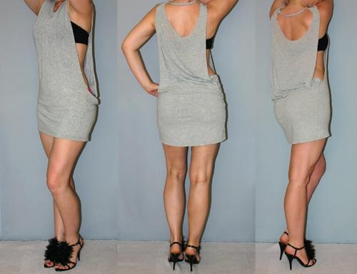 Cut your boyfriend's oversized t-shirt into a dress. #DIY ...