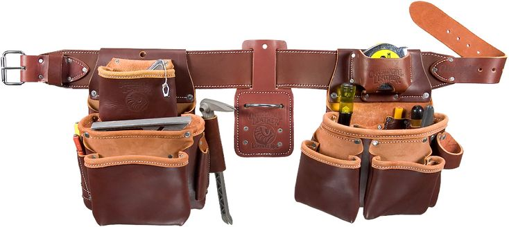 Pro Framer™ Tool Belt Set by Occidental Leather.  The last toolbelt you will ever need, and made in the USA.