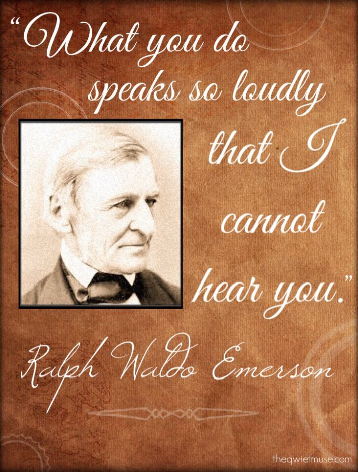 ralph waldo emerson writing style Free essay: the two authors ralph waldo emerson, and henry david thoreau,   thoreau, who was also very interested in the individual life style, thought that,  one  most of the romantic writers held a common belief that man should rely  on.