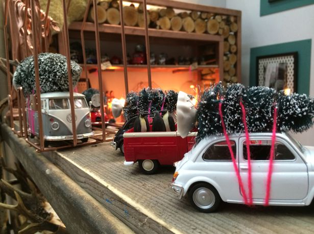 flavourites live 2014, meesie, kerstboom op auto, kertboompje, volkswagen van