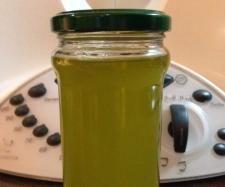 Galic infused olive oil