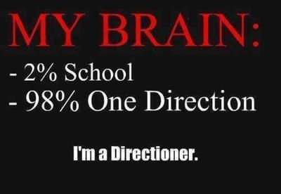 I never have that much of school  in my brain lol
