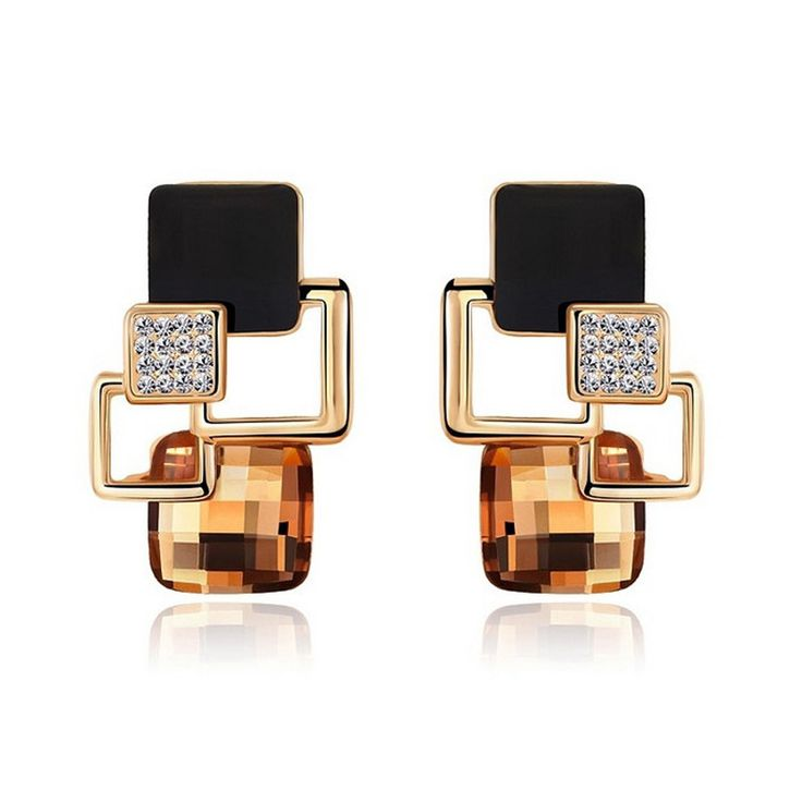Cheap earring hanger, Buy Quality earring packaging directly from China earrings fake Suppliers:      Brincos Crystal Earrings For Women Hot sale Fashion costume Jewelry Women Special Offer Classic Long Earring P