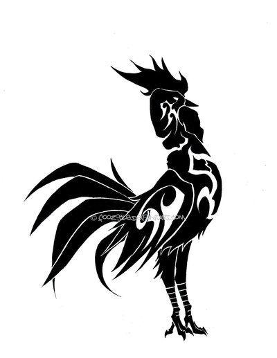 Llavero Tribal De Gallo