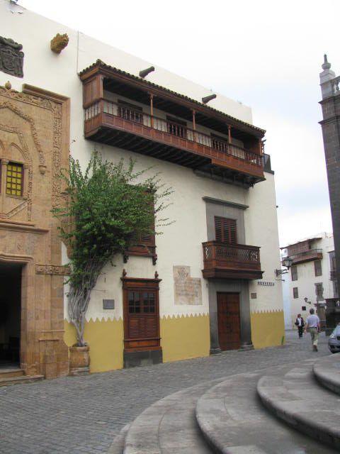 régi spanyol gyarmati épület