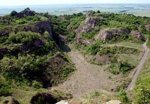 Ság-hegy, krátertúra (Geológiai tanösvény-Celldömölk)
