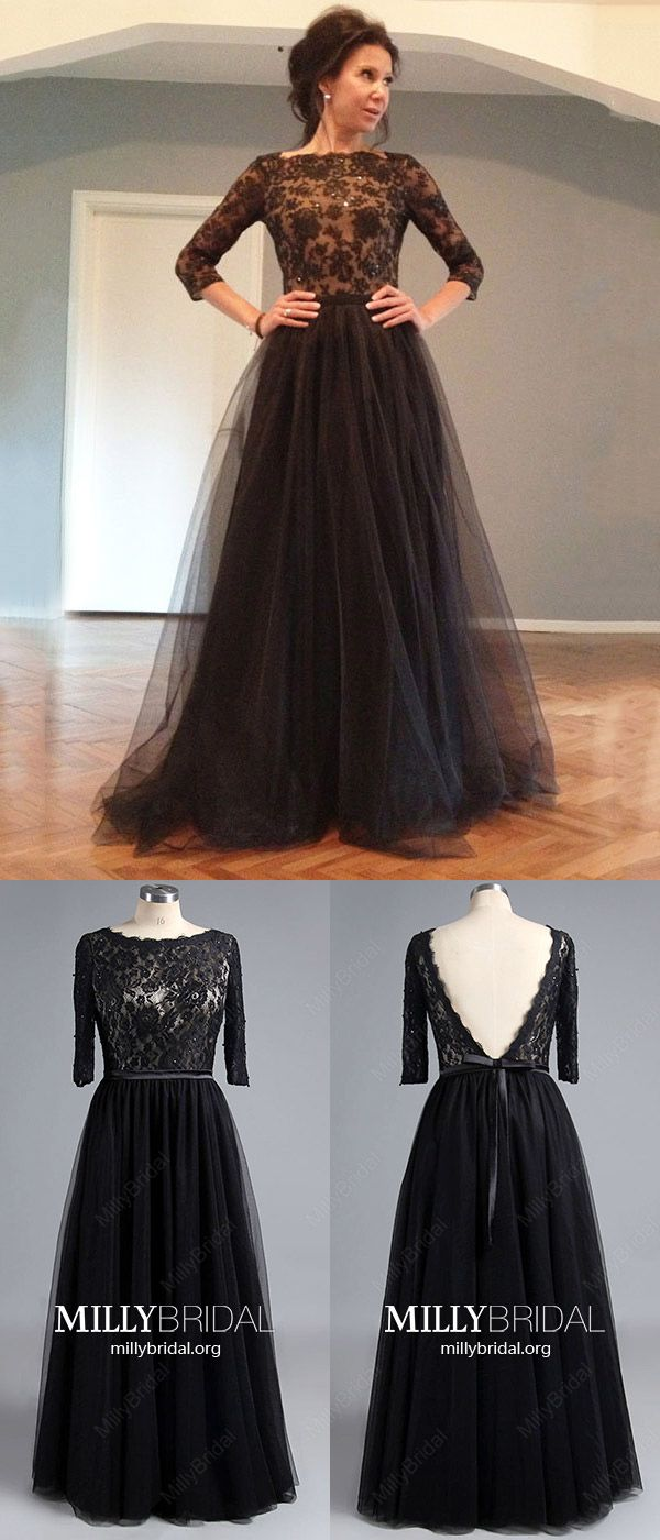 966e7c0d468 Elegant Long Prom Dresses with Sleeves