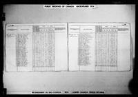 Joseph Maillot,Recensement du Bas-Canada (1825) pour Bécancour, Buckinghamshire l'image numéro 004569586_00262