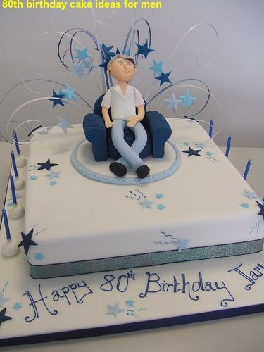 80th Birthday Cake For Men 60th Cupcakes Dad Decorating
