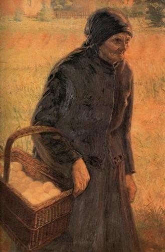 The Old Egg Seller - Emmanuel Zairis
