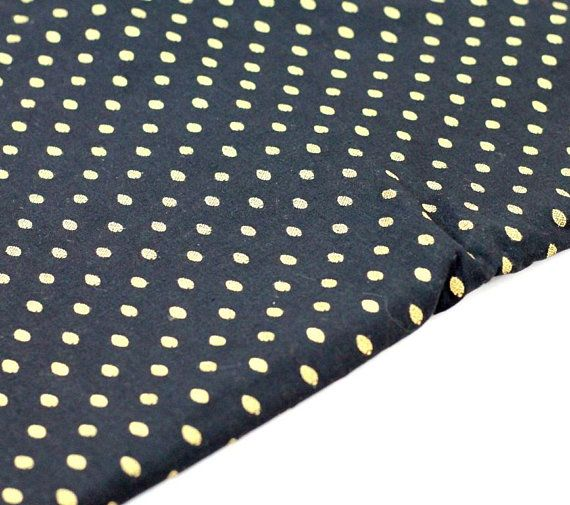 Black and gold Indian cotton dress material  https://www.etsy.com/listing/587094024/black-gold-cotton-fabric-indian-fabric