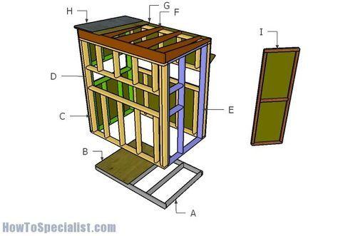 4'x6' Shooting House