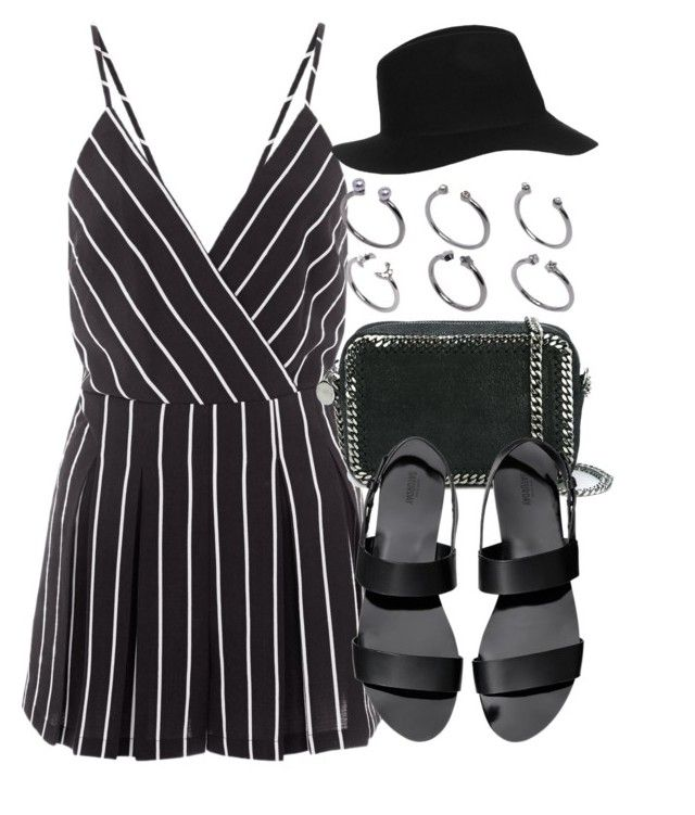 """""""Sin título #12349"""" by vany-alvarado ❤ liked on Polyvore featuring Cameo Rose, STELLA McCARTNEY, ASOS and Topshop"""