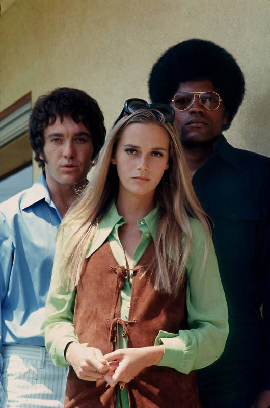 Michael Cole, Peggy Lipton and Clarence Williams III in The Mod Squad