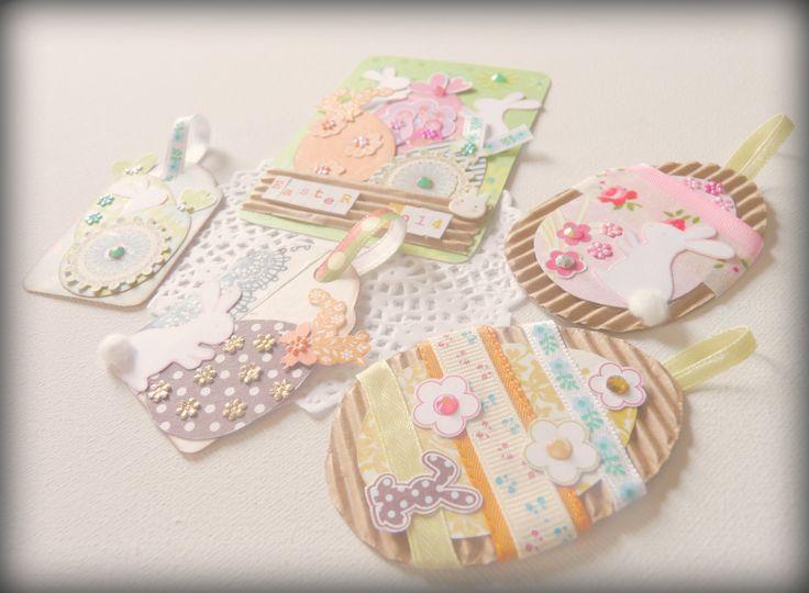 Las Pascuas llegan al blog de Miss Papelitos, con varias ideas para decorar nuestros trabajos http://misspapelitosscrap.blogspot.com.es/2014/04/la-buena-idea-de-la-semana.html