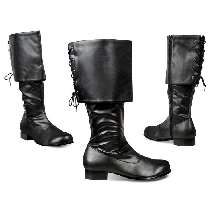 Game of Thrones Ranger Black Knights Boots ideal for Cosplay and Lord of the Rings Outfits