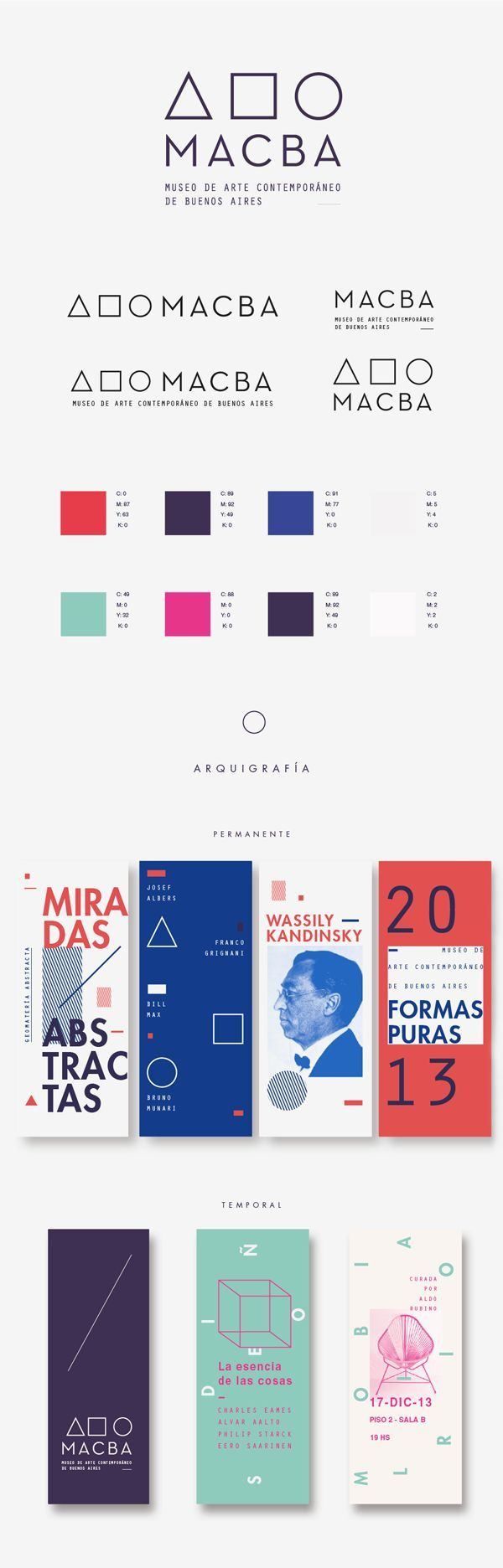 Identidad de Museo by julia ferrando, via Behance