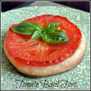 Gourmet Cooking For Two: Tomato Basil-Tarts
