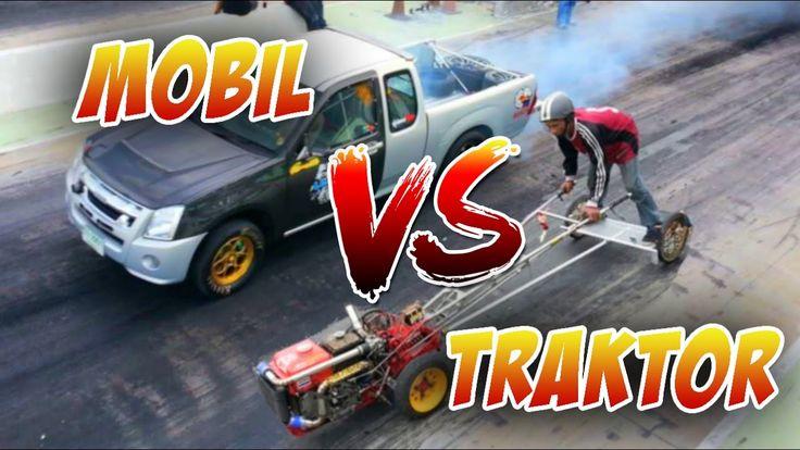 Amazing!!! Drag Traktor VS Mobil ● Siapakah Yang Menang?
