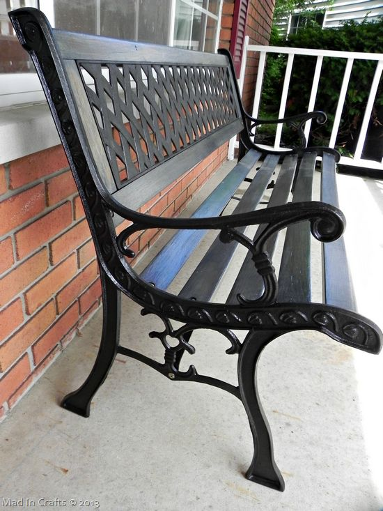 17 best ideas about outdoor benches on pinterest diy wood bench benches and bench plans Wrought iron outdoor bench
