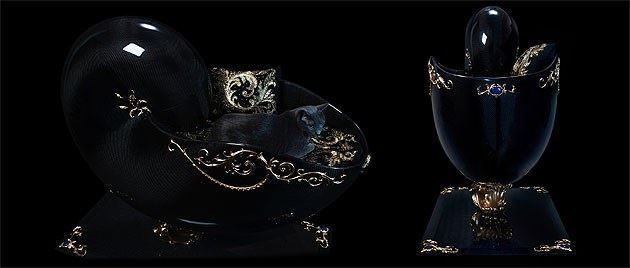 Swiss brand Lanimah presents Nautilus, probably the world's most luxurious Cat Bed #LANIMAH #NAUTILUS