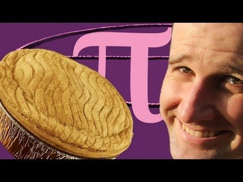 Here's an entertaining video about calculating Pi with real pies. The three minute and fourteen second video explains Pi and how it can be calculated.