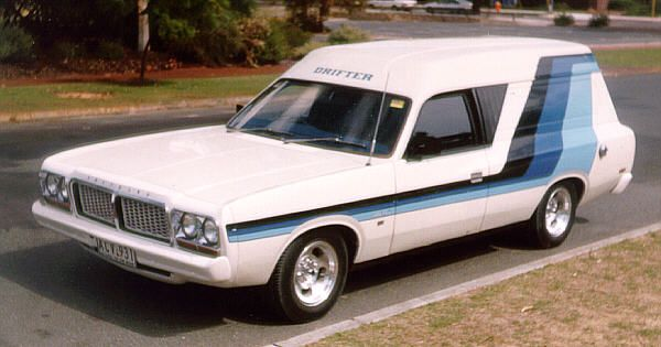 1978 Chrysler CL Valiant Drifter Panel Van