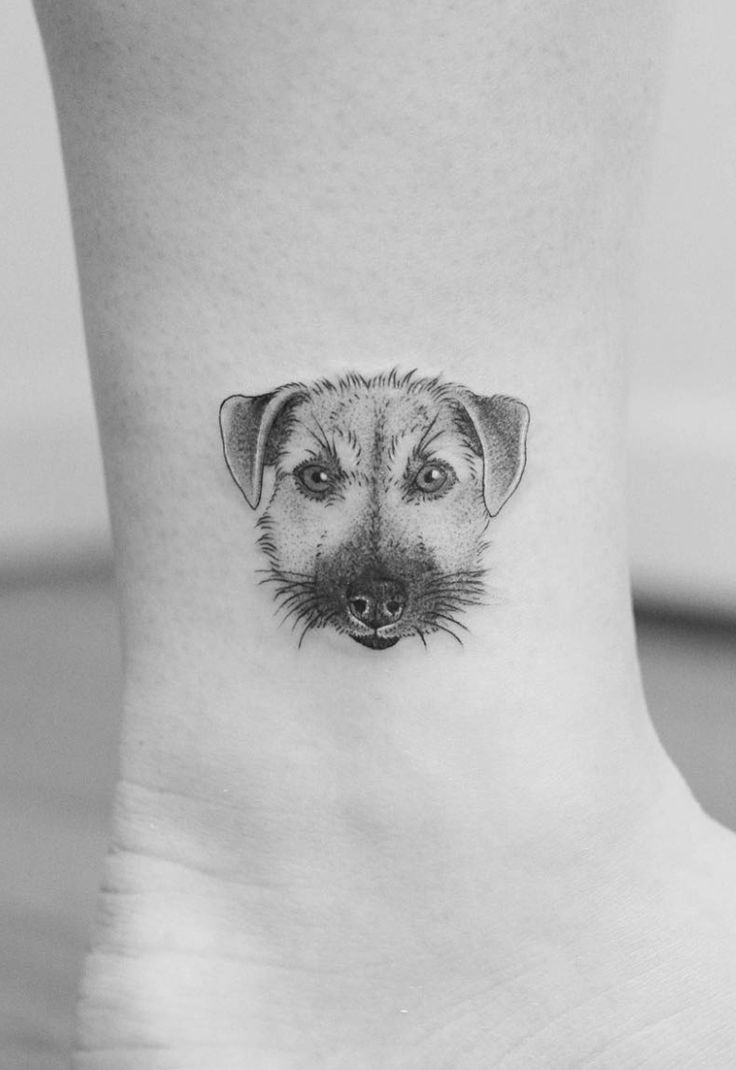 Chinese Zodiac dog tattoos