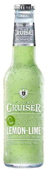 Vodka Cruiser Zesty Lemon Lime.