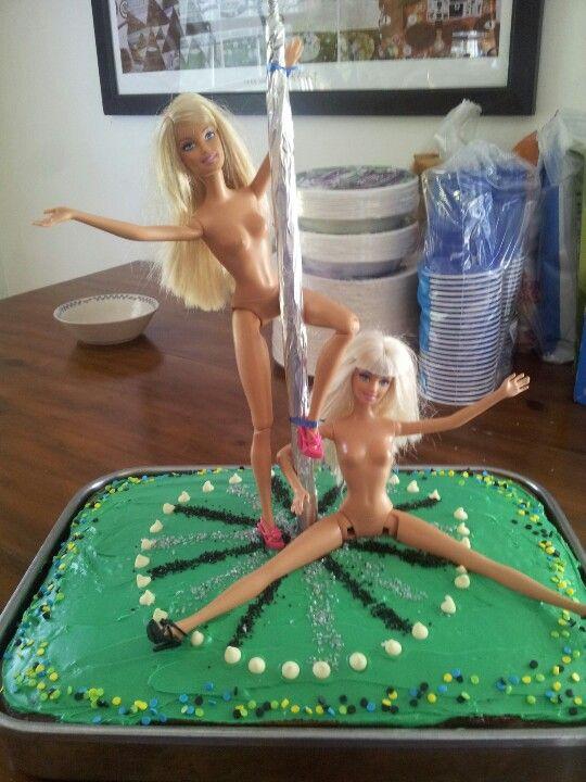 The stripper cake!!