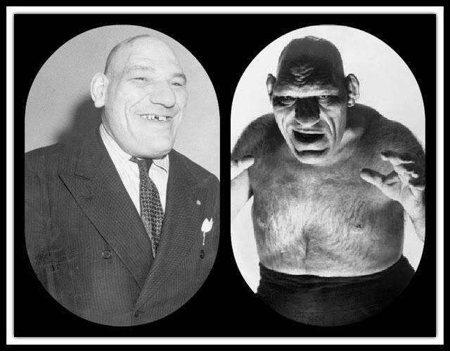 The French Angel Wrestler, Maurice Tillet, Death Masks, and how he inspired Shrek: Maurice Tillet 'The French Angel' Wrestler.  Fantastic site with his life story