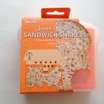 Boat and Train Sandwich Cutter http://littlebentoworld.com/shop/sandwich-cutters/boat-and-train-sandwich-cutter/