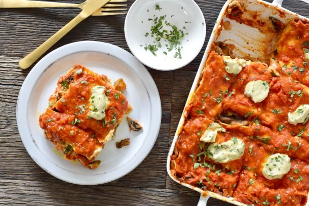 Hearty Vegetable Vegan Lasagne   Pamela Salzman