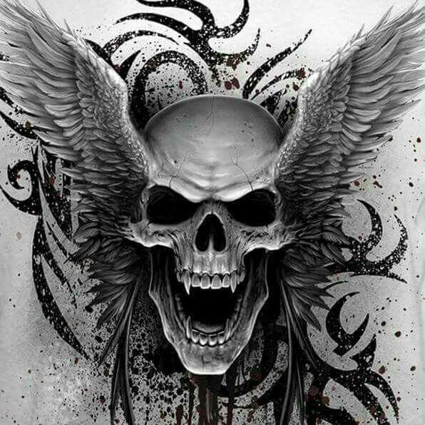 Skulls Tattoo Design Wallpaper: Skull Art, Skull, Tattoos