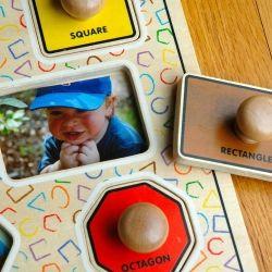 DIY Baby's First Photo Album/Puzzle