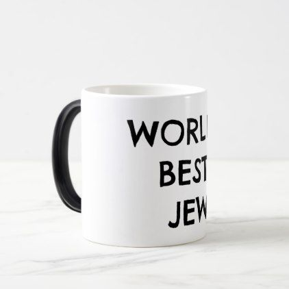 Moses' World's Best Jew Mug - decor gifts diy home & living cyo giftidea