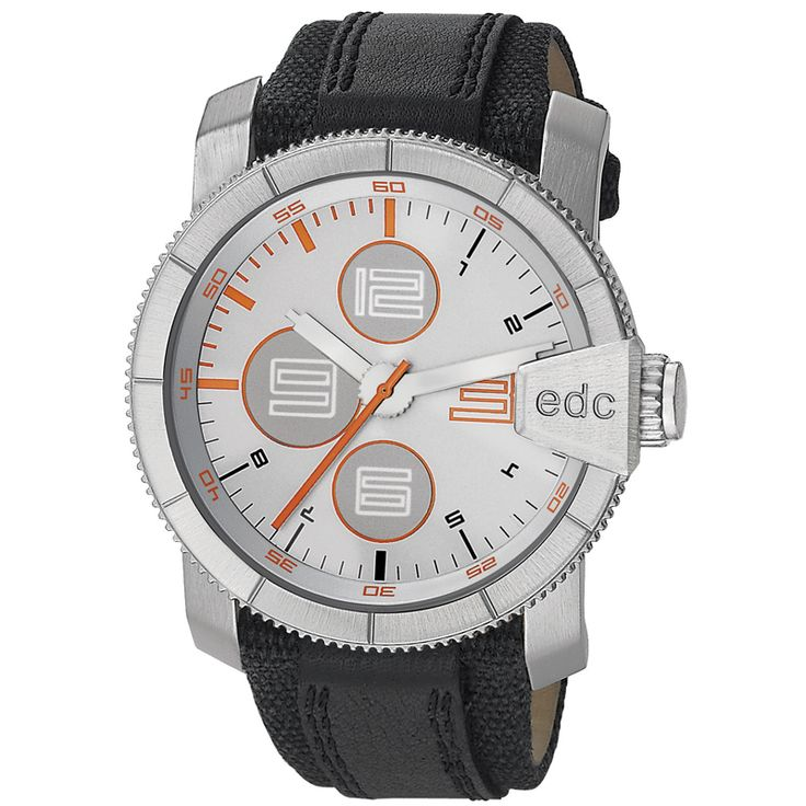 EDC Esprit Rock Climber Midnight EE100791001 horloge | 3ATM! | http://www.kish.nl/EDC-Esprit-Rock-Climber-Midnight-EE100791001-horloge/ | €75,00