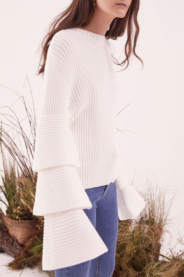 Steele - Cabana Knit - White