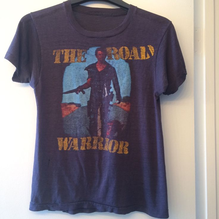 The Road Warrior Vintage 1980's T-Shirt Mad Max Mel Gibson | Clothing, Shoes & Accessories, Vintage, Men's Vintage Clothing | eBay!