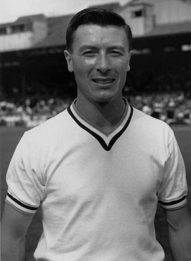 Jimmy McIlroy - Burnley - as a player.