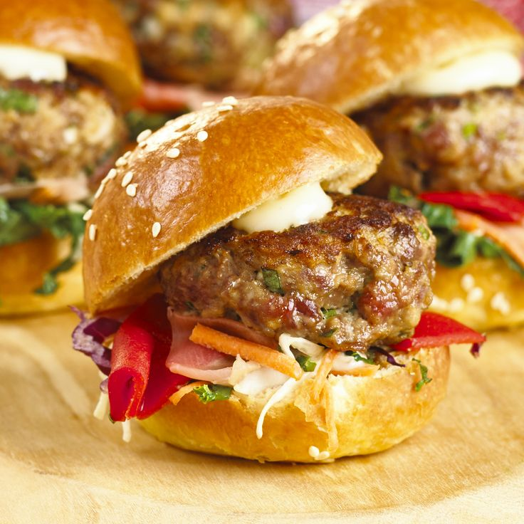 Recipe for Duck Breast Burger (slider)