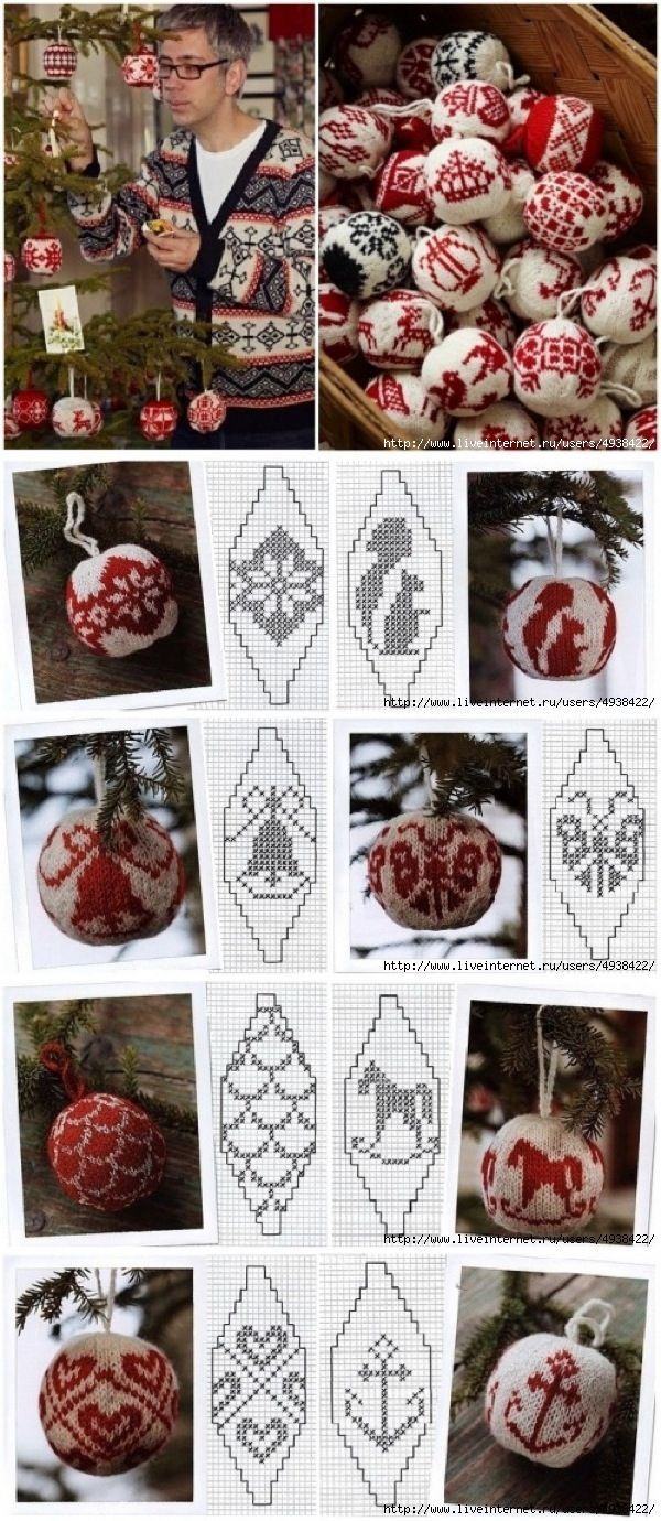 239 best julekuler images on pinterest christmas tree crafts 3 knit christmas bankloansurffo Images