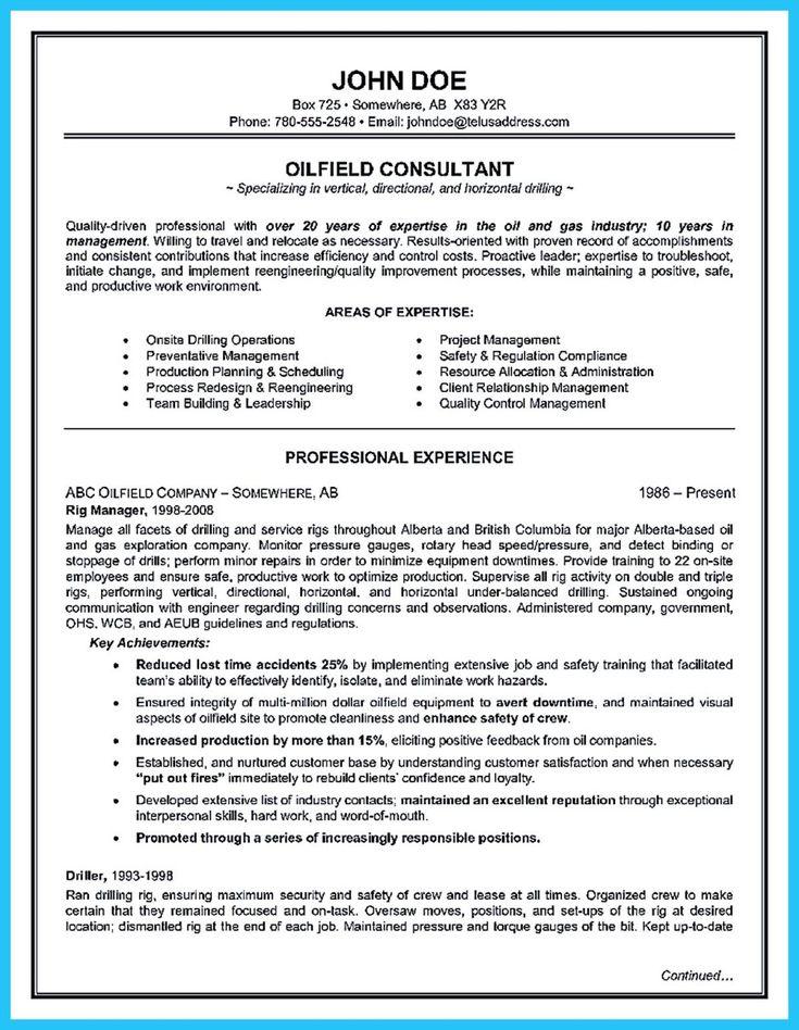 7 best Resume Samples images on Pinterest Resume tips, Resume - oil broker sample resume
