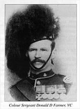 Sgt. Donald Farmer VC 1st Cameron Highlanders 13th December 1900 South Africa