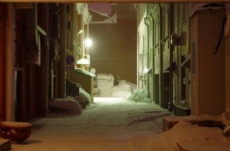 Lane bars Lubinsky avenue | by W-edge art